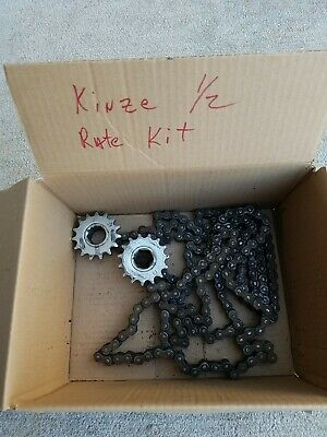 Used Kinze Half Rate Drive Kit Off 1224 Row 3600 Planter 2 15 Tooth Sprockets