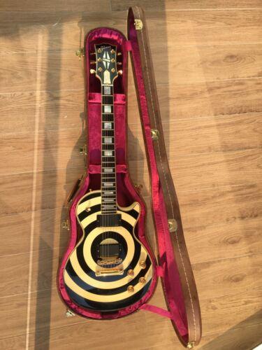 Gibson Les Paul Custom 5.2kg Zakk Wylde Bullseye EMG 81 85 Set + COA & Case
