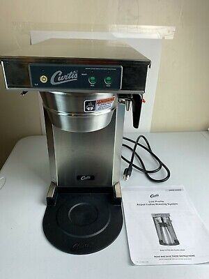 Wilbur Curtis G3 Tlp12a Low Profile Automatic Coffee Brewer Stainless Steel