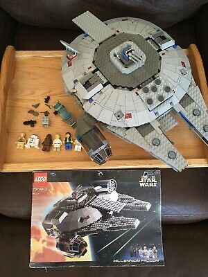 LEGO Star Wars Set 7190 Millennium Falcon 99% complete with minifigures & manual