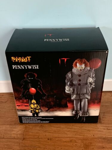READY TO SHIP - 6.5 FT Spirit Halloween Pennywise IT Clown Animatronic Prop NEW