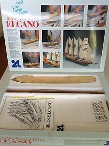 Jaun Sebastian ELCANO 4 Masted Sailing Ship Model 1:250 Scale Sutherland Sutherland Area Preview