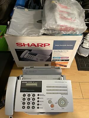 Sharp Ux B700 Heavy Duty Inkjet Facsimile Fax Machine Printer New Open Box Testd