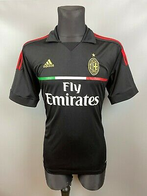 AC MILAN 2011 2012 SHIRT THIRD FOOTBALL SOCCER JERSEY ADIDAS ADULT SIZE L