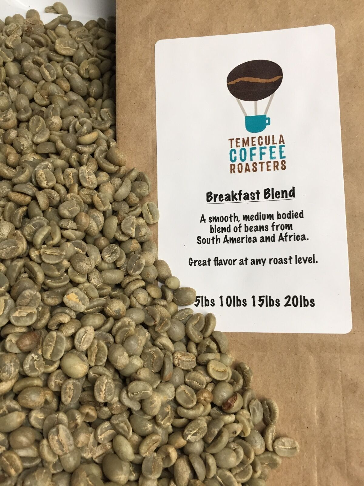 Unroasted Coffee Beans >> Breakfast Blend Coffee Green Unroasted Coffee Bea In Home