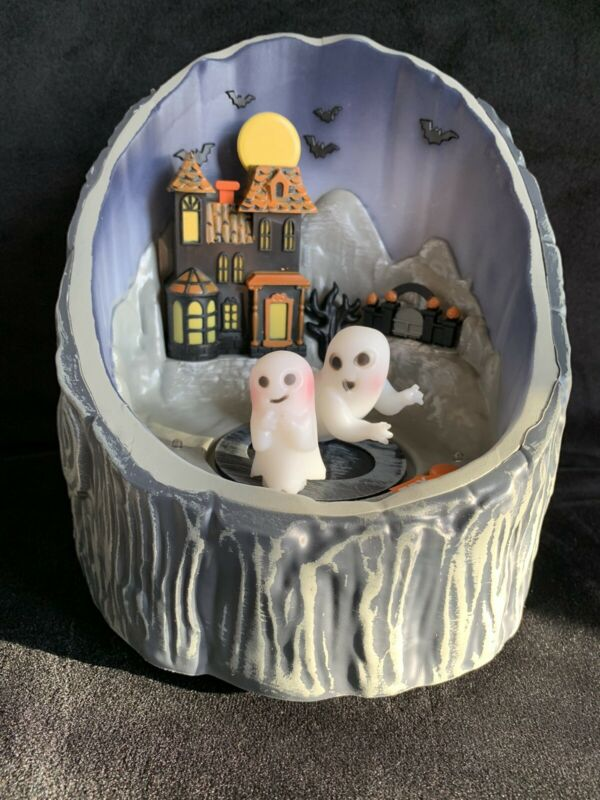Hyde And Eek! Animated Halloween Log Decoration Target 2021 Collection Light Up