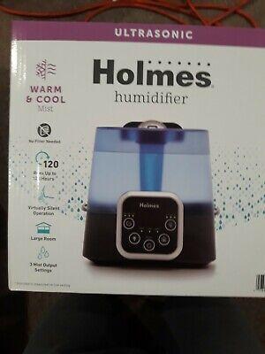 NEW  SEALED  NIB Holmes Ultrasonic Warm/Cool Mist Humidifier 085-18-0040