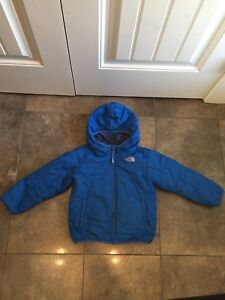 4T Reversible North Face Jacket