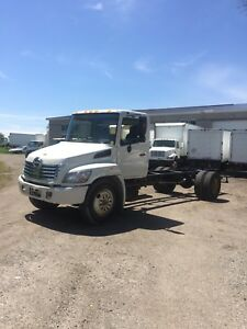 2007 Hino 268 Automatic Cab and Chassis Pre Emission