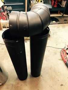 supervent 6 inch double walled stove pipe
