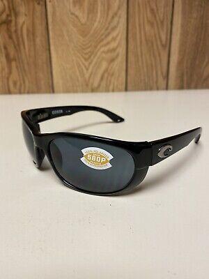 Costa del Mar Sunglasses - Howler 580P Black With Smoke/Gray (Costa Howler 580p)