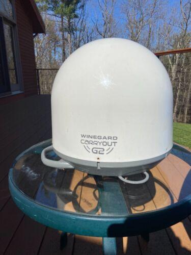 Winegard Carryout G2 Automatic Portable Satellite TV Antenna - White