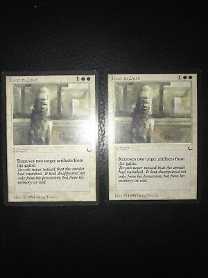 MTG - 2x Dust to Dust - The Dark - NM
