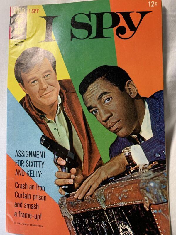 I Spy TV Comic Book Gold Key February 1967 Real Clean