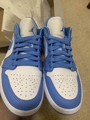 Nike Air Jordan 1 Low UNC (W) US Size 8 Women's / US Size 6.5 Men's in hand