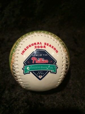 Philadelphia Phillies Citizens Bank Park 2004 Inaugural Season Baseball
