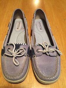 Sperry dock shoes women's size 6-6.5