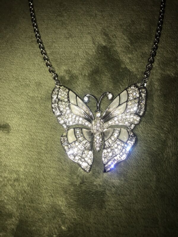 SALE!!!!!!! Vintage Judith Leiber, Beautiful Butterfly Necklace NWOT