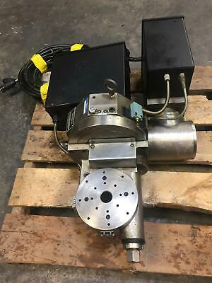Troyke Model L6.5-c 5 Axis Rotary 6.5 Table Haas Drives