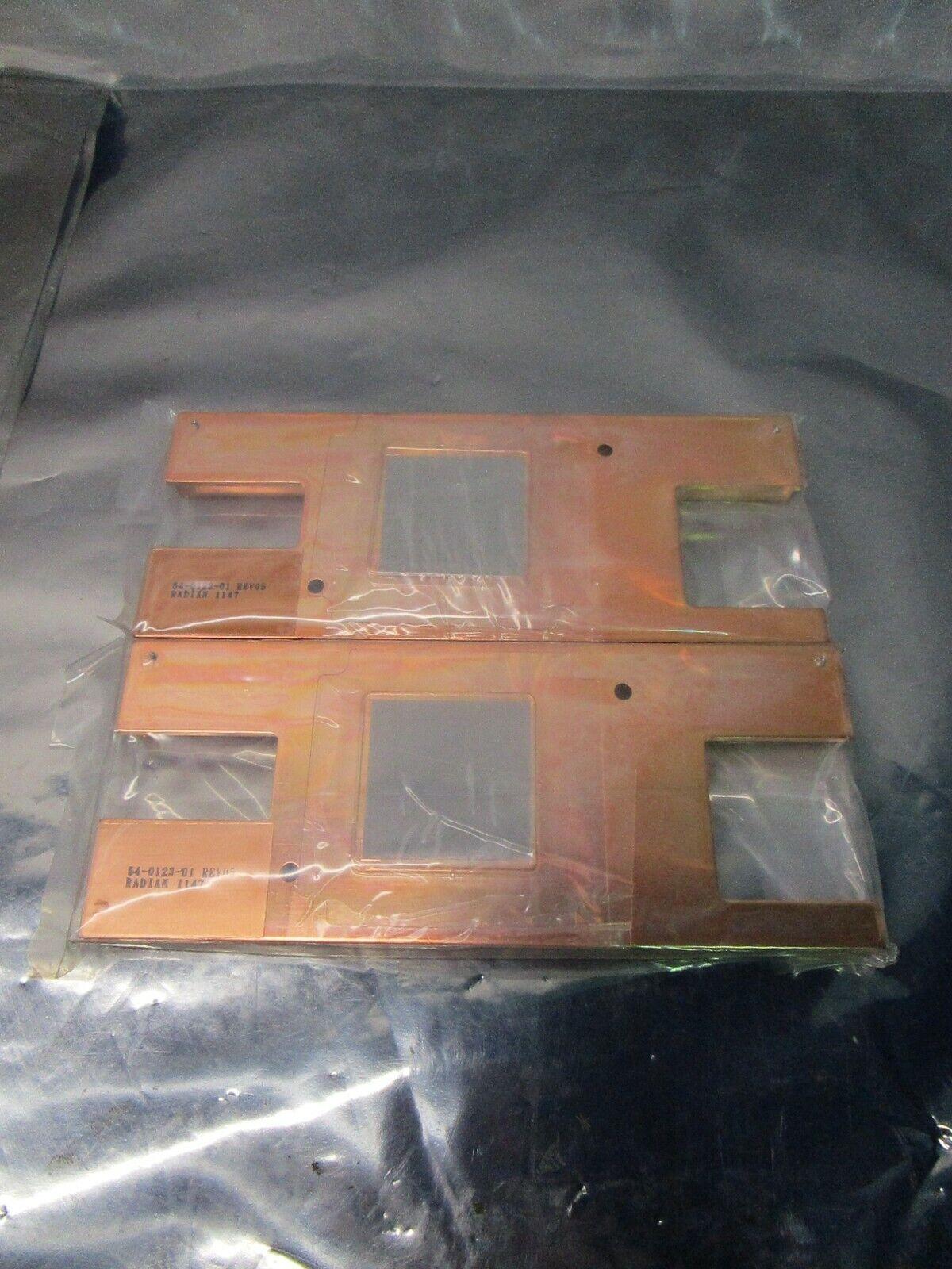 Copper Heat Sink, large surface, Heatscape 54-0123-01-05, 102508