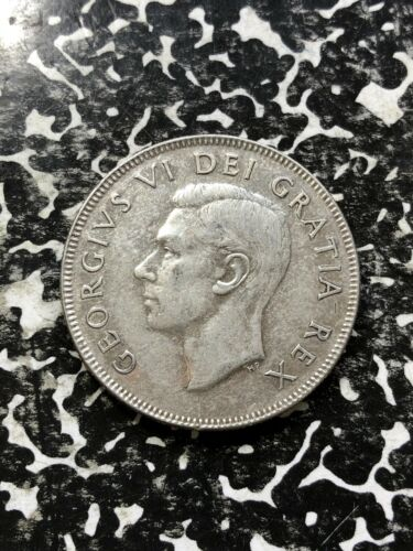 1950 Canada 50 Cents (4 Available) Silver! (1 Coin Only)