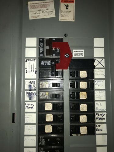 B-2 Generator Interlock Kit for Bryant Breaker Panel
