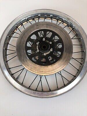 Yamaha XS 650 XS650 OEM Front Wheel Brake Rotor Spoke Hub 1.85 x 19