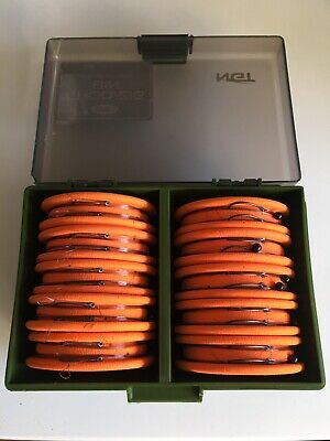 Ngt Zig Chod Case Fully Loaded Zig Rigs Fox Nash Carp Fishing Tackle Korda