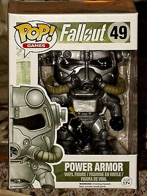 Pop!Games Fallout Brotherhood of Steel Power Armor Funko Vinyl Figure #49 - Brotherhood Of Steel Power Armor