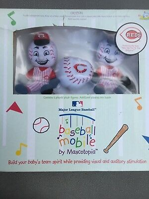 NEW IN BOX CINCINNATI REDS MAJOR LEAGUE BASEBALL BABY BASEBALL MOBILE Baseball-mobile