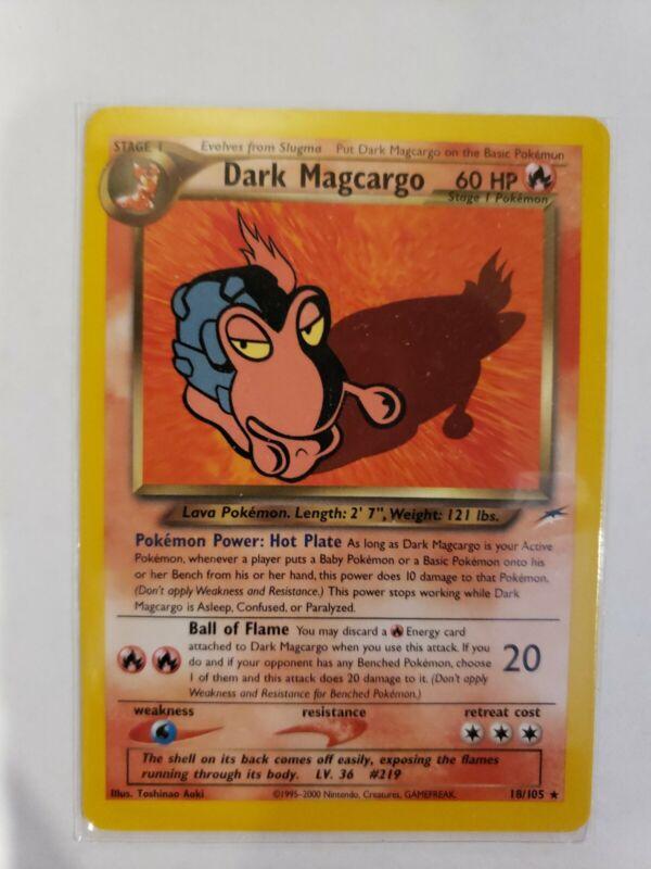Pokemon Neo Destiny Common Card #82/105 Slugma Losse niet-sportkaarten