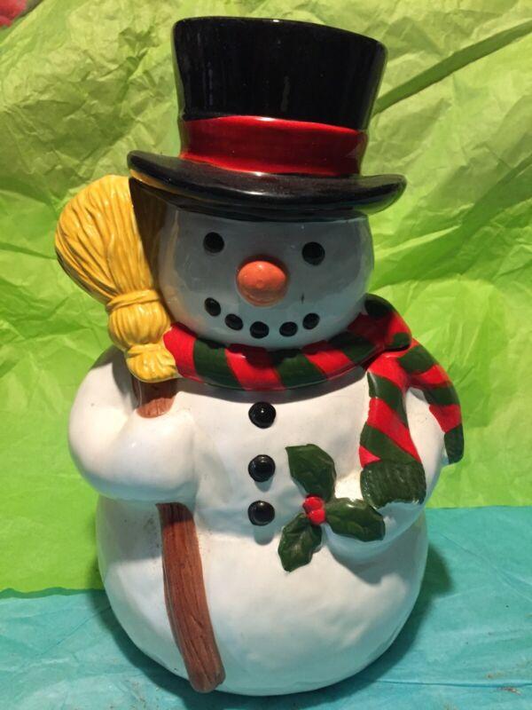 The Cooks Bazaar Frosty The Snowman Cookie Jar