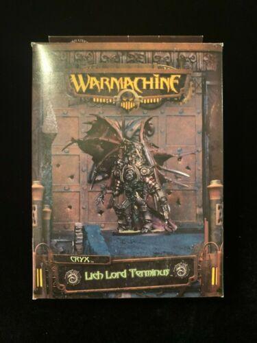 Warmachine Cryx Lich Lord Terminus
