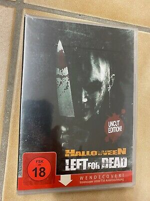 HALLOWEEN - LEFT FOR DEAD - FSK18 / UNCUT EDITION (DVD 2009) **NEU/OVP**