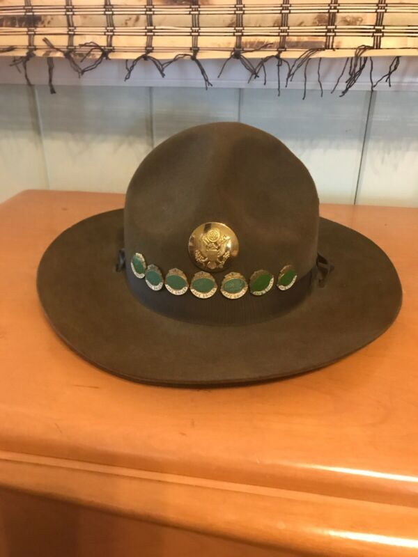 Vintage Military Campaign Hat AGM of the Carolinas