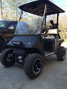 Ez-go gas golf cart ready to go runs awesome