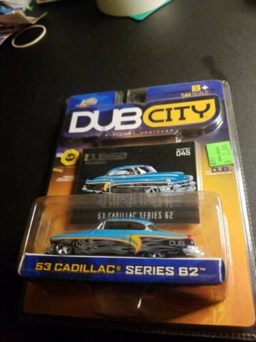 JADA 2003 DUB CITY OLDSKOOL 53 CHEVY CADILLAC SERIES 62 045 - $4.99