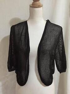 Target Bolero Style Knit Jacket  Cardigan Size 14 Capalaba Brisbane South East Preview