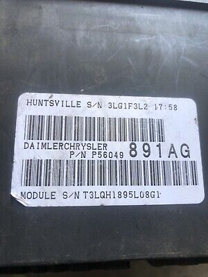 2006 - 2007 Dodge Ram 2500 3500 TIPM fuse junction box 5.9 diesel 4x4  Automatic