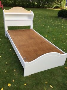 TWIN BED  with 2 drawers