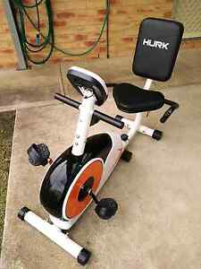 FOR SALE HURK ENDURANCE RECUMBENT EXERCISE BIKE IN NEW CONDITION. Yahl Grant Area Preview