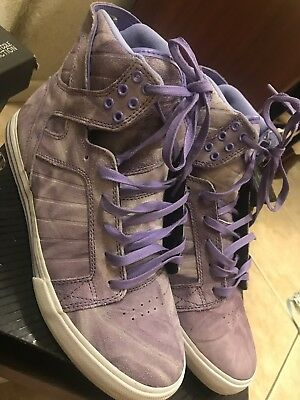 Supra Skytop Chad Musks Pro Model Purple Tie