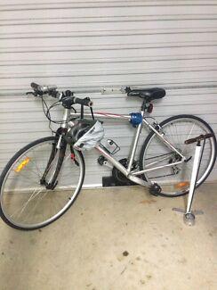 Hybrid bicycle 24 speed
