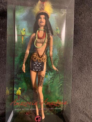 Amazonia Barbie Doll. Dolls Of The World.  - $150.00