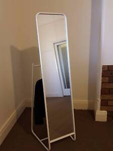 KNAPPER standing full length mirror - white Wagga Wagga Wagga Wagga City Preview