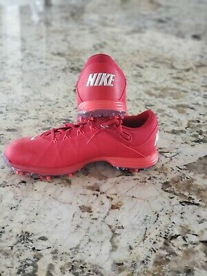 Rare Nike Red Men's Golf Shoes - 9 US
