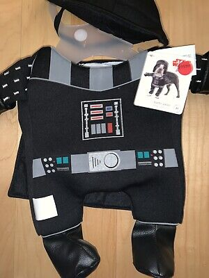 Pet Star Wars Darth Vader Dog Costume Nwt Voice Box M Nwt](Dog Darth Vader Costume)