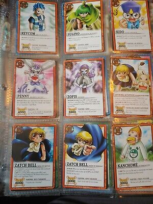 Zatch Bell Complete Set Common, Uncommon, Rare Cards from Dawn of the Ancients comprar usado  Enviando para Brazil
