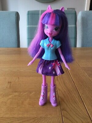 Twilight Sparkle My Little Pony Equestria Girls Doll Excellent Condition for sale  Shipping to South Africa