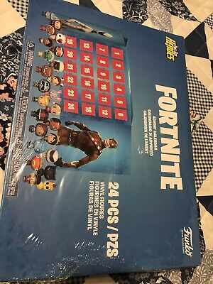 Funko Pop Advent Fortnite Calendar 24 Pieces Pocket Pint Size Heroes Sealed